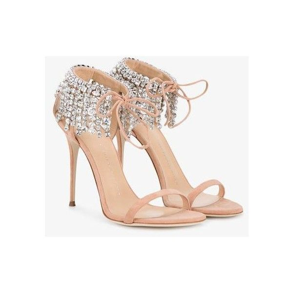 Giuseppe Zanotti Design Giuseppe Zanotti Design Carrie... (4,725 ILS) ❤ liked on Polyvore featuring shoes, sandals, open toe stilettos, open toe shoes, nude open toe shoes, nude shoes and heels stilettos