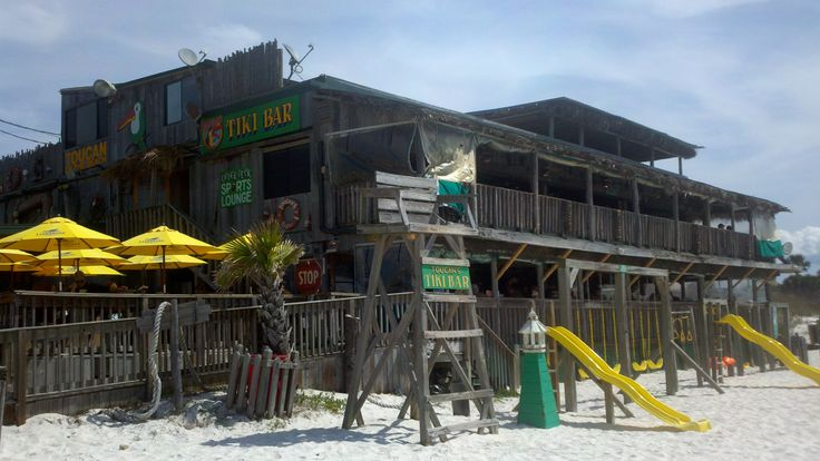 Join us on the sand at Toucan's of Mexico Beach, FL