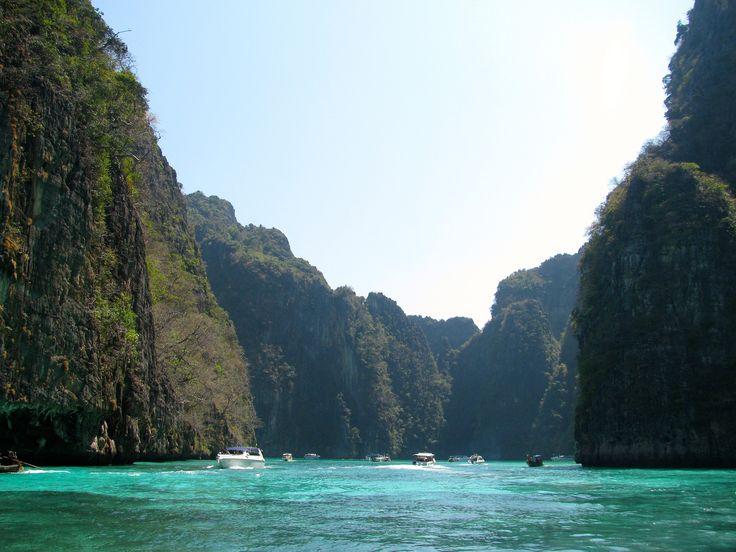 https://flic.kr/p/poz1vv | Bahía Pi Leh. Mar de Andamán | Tailandia