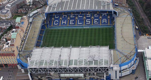 Stamford Bridge, London...home of Chelsea Football Club.