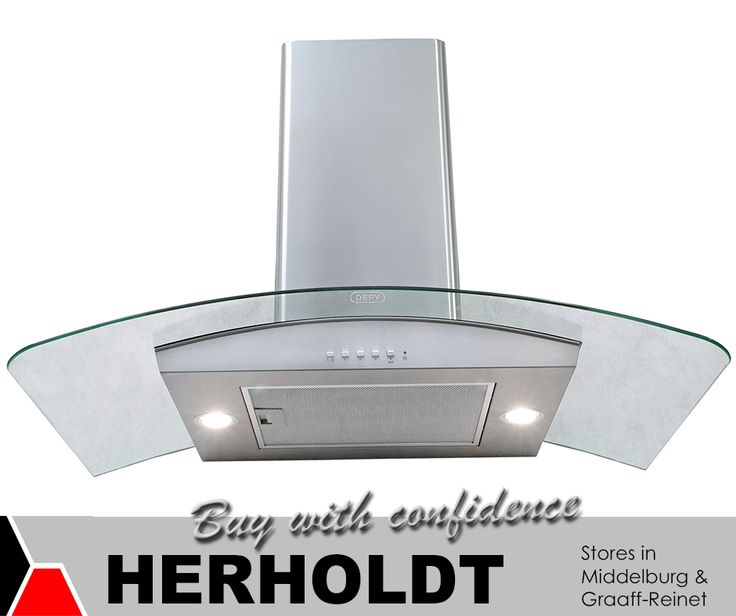 Accessorise your stove with a gorgeous #Defy Cookerhood 900C Premium C/Glass from #Herholdt. Order it online at http://asite.link/326. #appliances #lifestyle