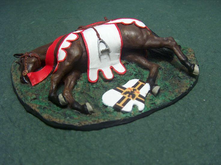 Ranny koń krzyżacki