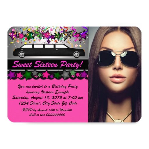 1000+ Images About Teens 13-17 Birthday Invitations On