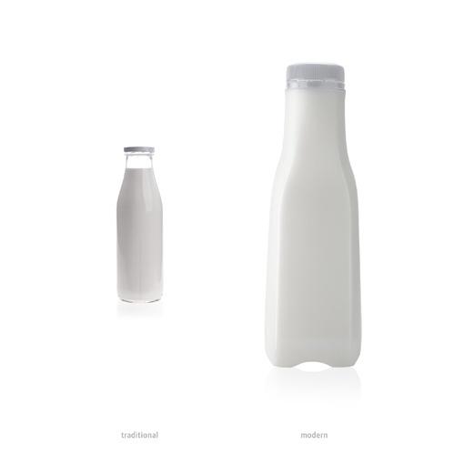 PACKLAB - Al Rawabi Milk Packaging Design by PACKLAB , via Behance