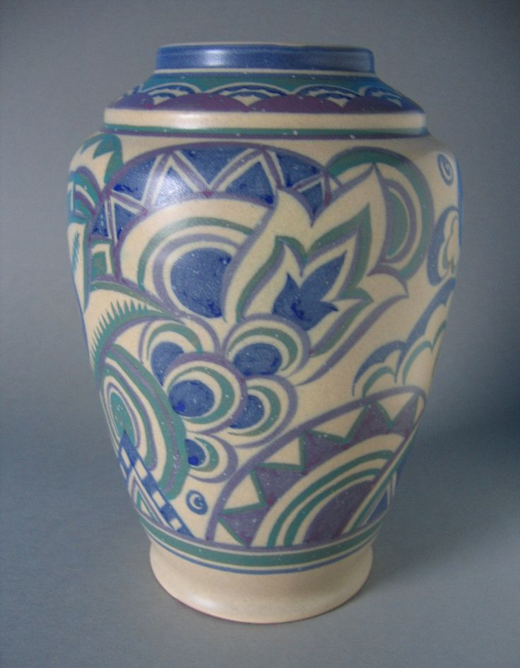 Poole Pottery Vase 1920s/30s | Flickr - Photo Sharing!