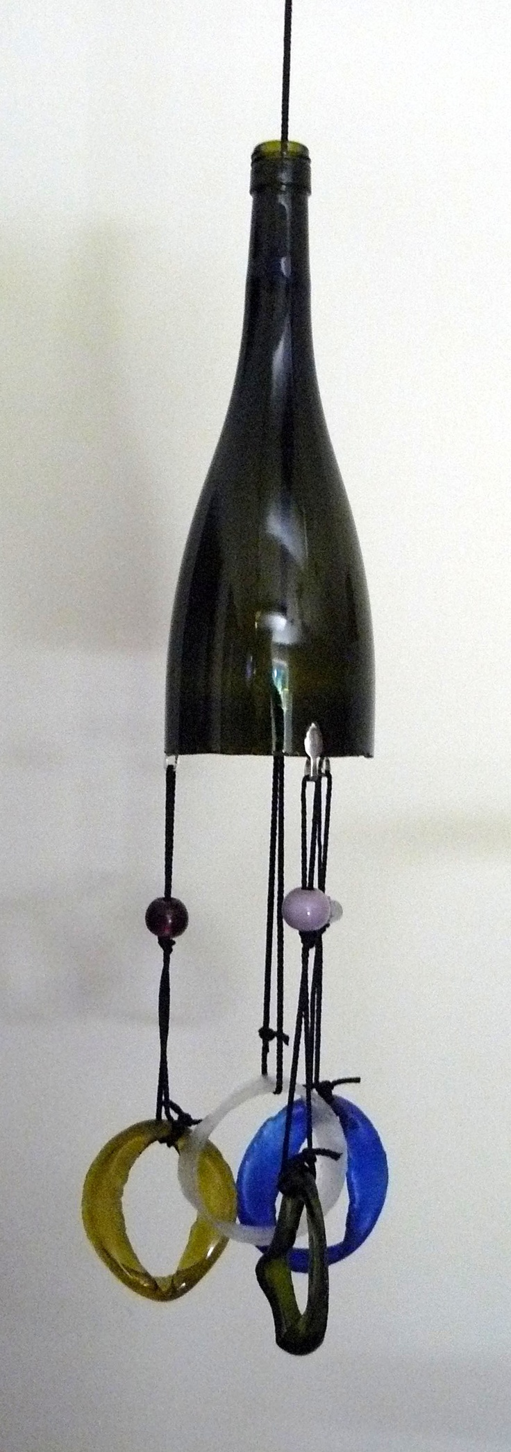 17 best images about wine bottle chimes on pinterest