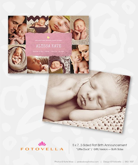 35 best Birth Announcement Templates images on Pinterest Birth - announcement template