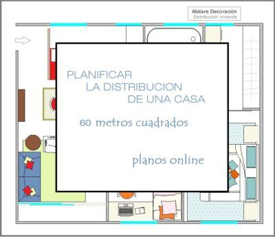 Abitare Decoración PLANOS ONLINE  Interiores de Casas   Ideas   Diseños   Planos   Distribución   Abitare Decoración