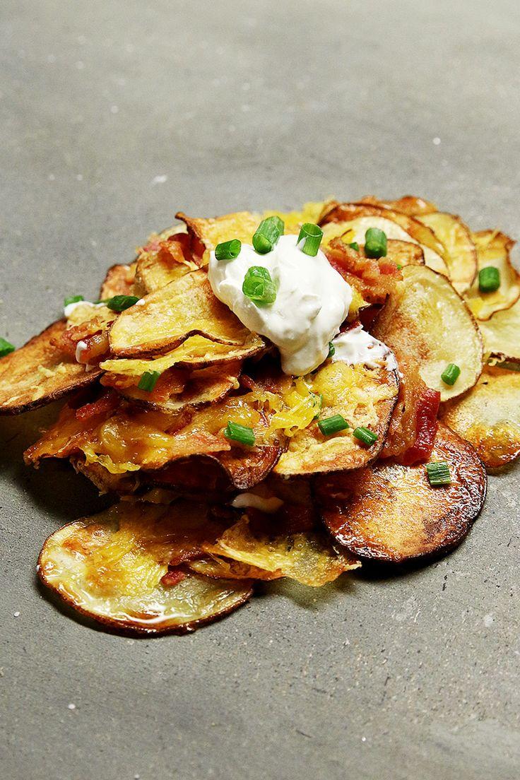 Chips maison façon nachos