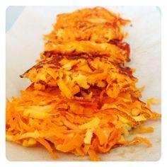 Zoete aardappel en pastinaak rösti #AfvallenUtrecht #Gewichtsconsulent_LeidscheRijn