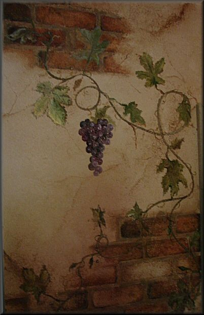 Tuscan Paint For Color Washing And Adding Details On Your Kitchen Or Dining Room Walls Diy If You Are Able Get Stencils