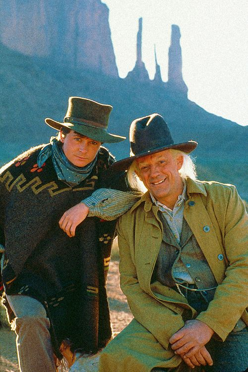Image result for back to the future iii marty