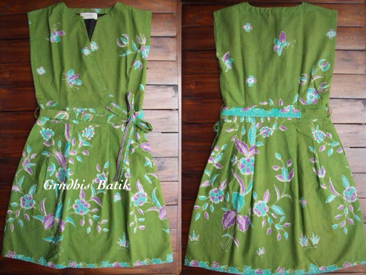Batik Tulis Cirebon + Lining Tricot. By Gendhis Batik