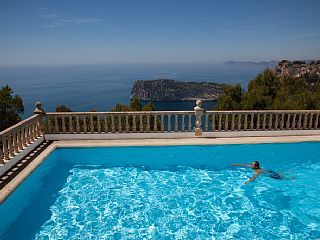 Villa With Panoramic Sea Views In Javea (Balcon Al Mar), Sleeps Up To 10Vacation Rental in Balcon del Mar from @homeaway! #vacation #rental #travel #homeaway