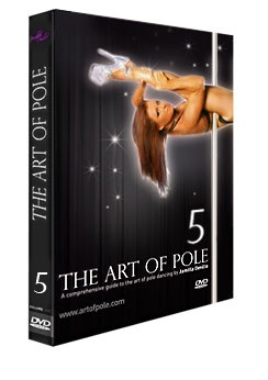 Jamilla DeVille's Art of Pole 5 approaches advanced moves with a focus on body positioning and correct technique. Inverted positions held off the pole are introduced, along with inverted climbs and completely new mounts and dismounts.  #artofpole5 #advancedpoledvd