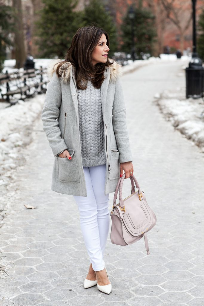 Casual Look | White, Grey