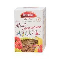 Musli z Amarantusem Bezglutenowe 300g (Incola) - Sklep ze zdrową żywnością - Smakosz