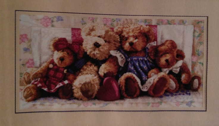 ' A Row Of Love ' A Wonderful Crossstitch that I have finished