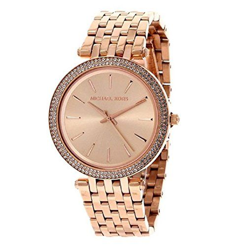 Michael Kors Women's Darci Watch, Rose Gold, One Size -- Click image to read...