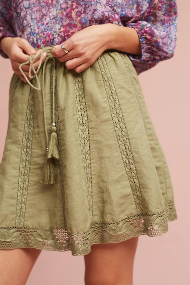 Shop the Lace Hem Skirt and more Anthropologie at Anthropologie today. Read customer reviews, discover product details and more.