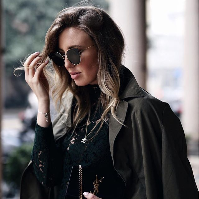 Fendi Glasses & YSL Bag    Trying to do that hairflip kinda thing K @liketoknow.it http://liketk.it/2qDl8 #liketkit