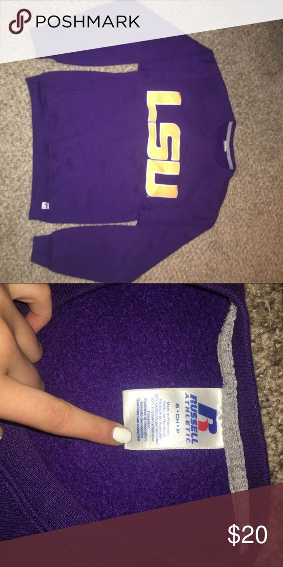 LSU Sweatshirt Super comfy Tops Sweatshirts & Hoodies