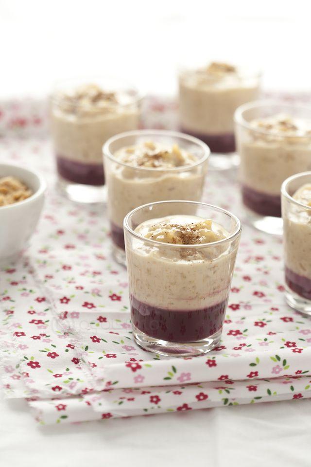 Clásico: Mazamorra morada y arroz con leche | Clasico: A peruvian dessert via @agoisfoto food & lifestyle