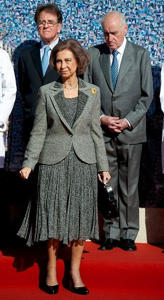 Queen Sofia Attends 'La Paz' Hospital 50th Anniversary on November 16, 2015 in Madrid, Spain.