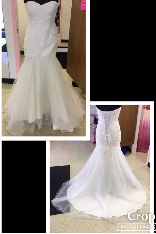 EVERYTHING about this Gown screams AWESOME, including the price 💃🏿💕 Size 10 & only $126.00 Designer Consigner Boutique 6329 S. Mooresville Road Indianapolis, IN 46221 317-856-6370 317-979-9628-Text Option #Indiana #Indianapolis #Indy #DesignerGowns #DesignerDresses  #WeddingGowns #BridalGowns #Weddings #DestinationBridal #Bridal #Brides #IndyBrides