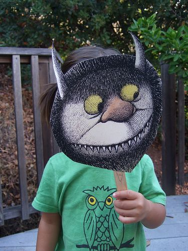 Wild things masks