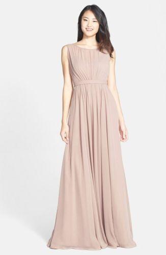 613e756cd32 NWT Jenny Yoo Vivienne Pleated Chiffon Gown Wisteria Size 16  84  JennyYoo   SheathDress  Formal