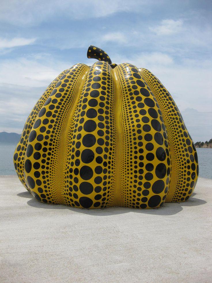 Japan's Naoshima Island...one big giant outdoor art museum.