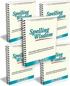 Simply Charlotte Mason; Spelling Wisdom books 1-5; grades 3-12. Learn spelling through classic literature and Bible copywork and dictation.