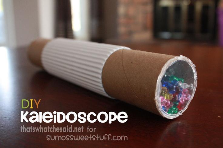 Sumo's Sweet Stuff: DIY Kaleidoscope Craft #kids #crafts