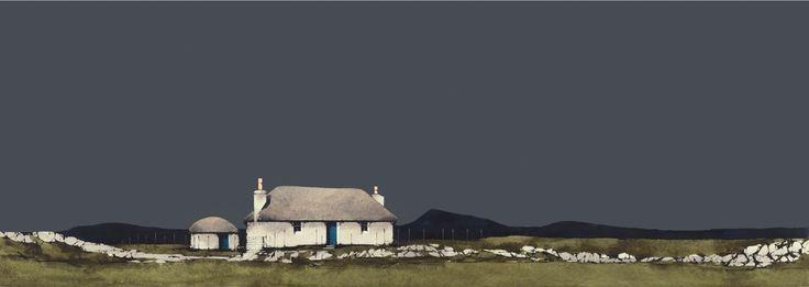 Ron Lawson, Cairinis, North Uist. SLE Print | Scottish Contemporary Art