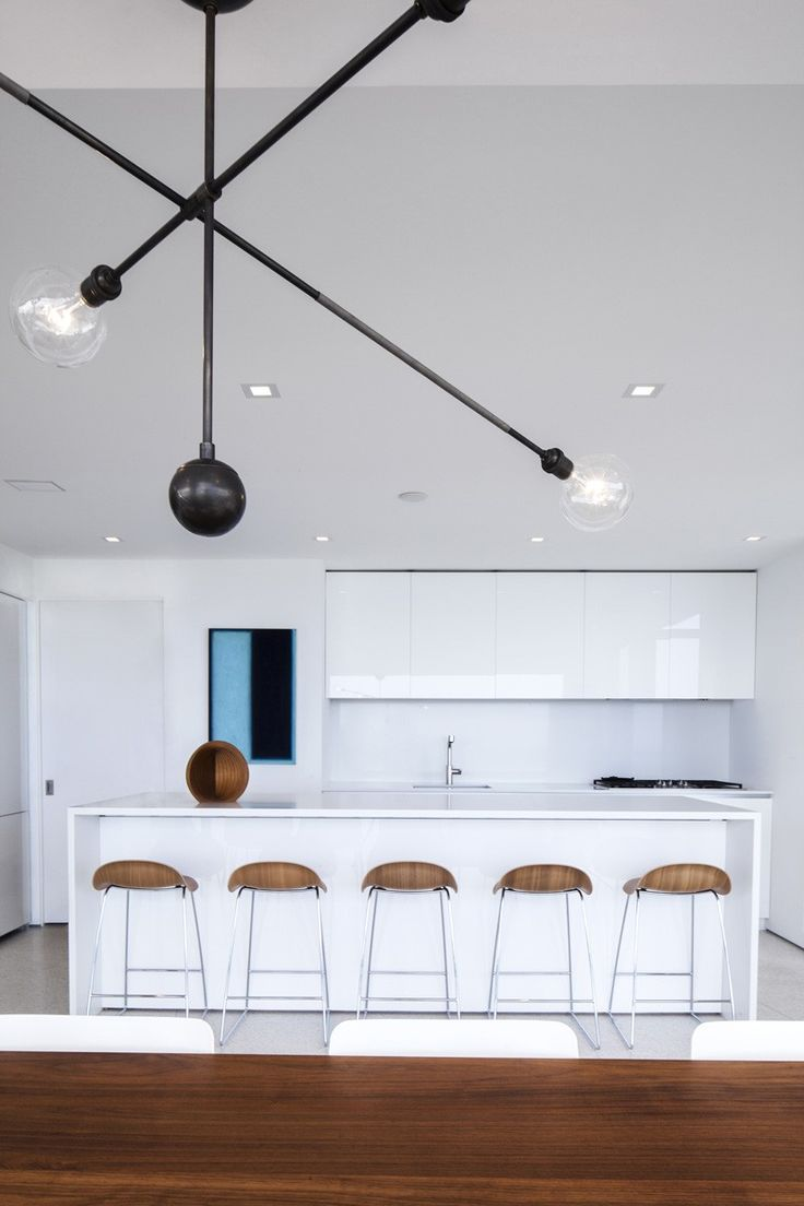 White glass splashback   Montee Karp Residence By Patrick Tighe Architecture