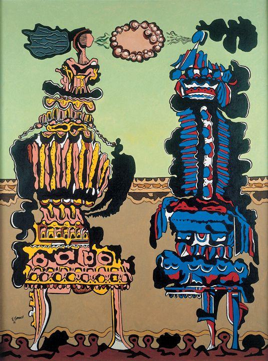 Eugenio Grandell, El arte de la conversación, 1976