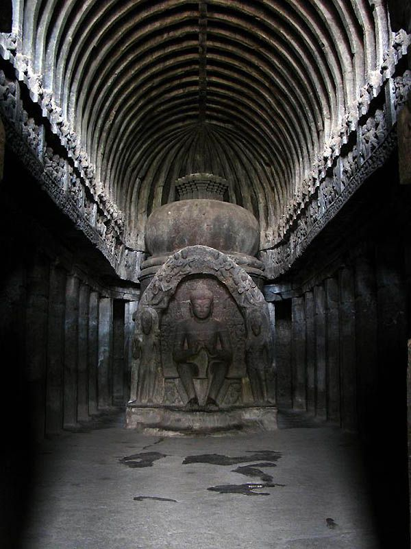 Ellora Caves, India - an amazing feeling in this one.