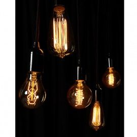 Filament Gloeilamp goud | piet klerkx | stage opdracht | Trends en ontwikkelingen bijhouden