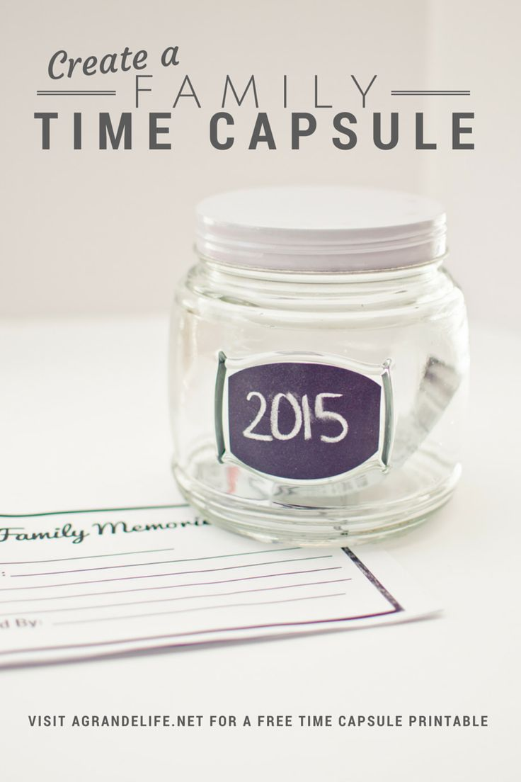 Create A Family Time Capsule With A Classic Snack