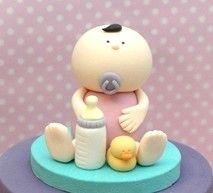 3D Fondant Baby Cake Topper PDF Tutorial by joscupcakegallery, $5.00