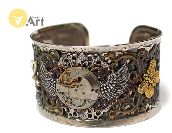Bracelet No. 76 by Invent-Art