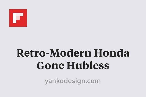 Retro-Modern Honda Gone Hubless http://www.yankodesign.com/2015/10/27/retro-modern-honda-gone-hubless/