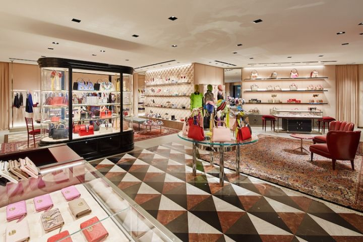 Gucci store by Alessandro Michele, Tokyo – Japan » Retail Design Blog