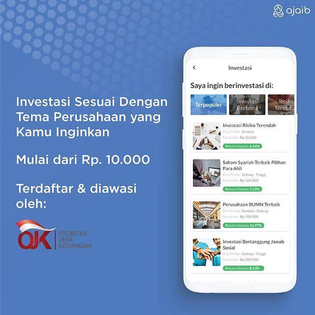 Aplikasi Ajaib Investasi Reksadana Investasi Keuangan Pengusaha