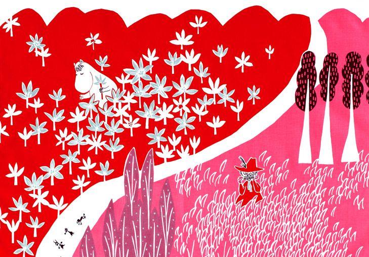 ほっこり可愛い♡ムーミンの北欧調壁紙でデスクトップもオシャレにしちゃおっ!|MERY [メリー]
