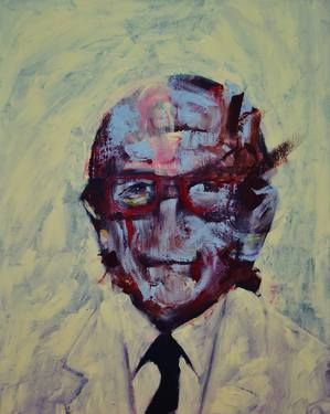 "Saatchi Art Artist michele petrelli; Painting, ""Frederick Sanger"" #art"