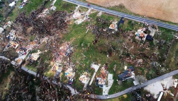 ΗΠΑ: «Σάρωσαν» οι ανεμοστρόβιλοι στο Οχάιο - Τρεις νεκροί και μεγάλες καταστροφές (βίντεο)