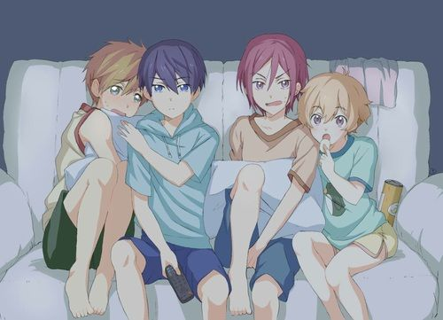 anime, free!, and free image
