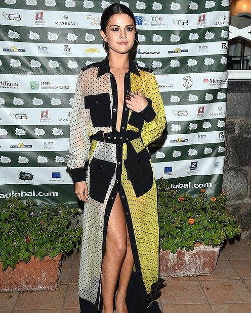 Selena Gomez attends Day 7 of Ischia Global Film & Music Fest 2014 on July 18, 2014 in Ischia, Italy. #smh #lifenadstyle #redcarpet #selenagomez